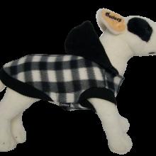 Hondenjasje Fleece Chess black bij AnimalWebshop