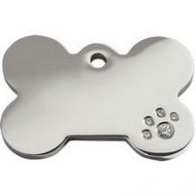 Hondenpenning Swarovski Reddingo bot bij AnimalWebshop.com