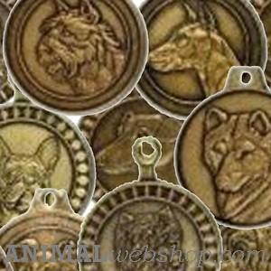 Pedigrí perros medallas