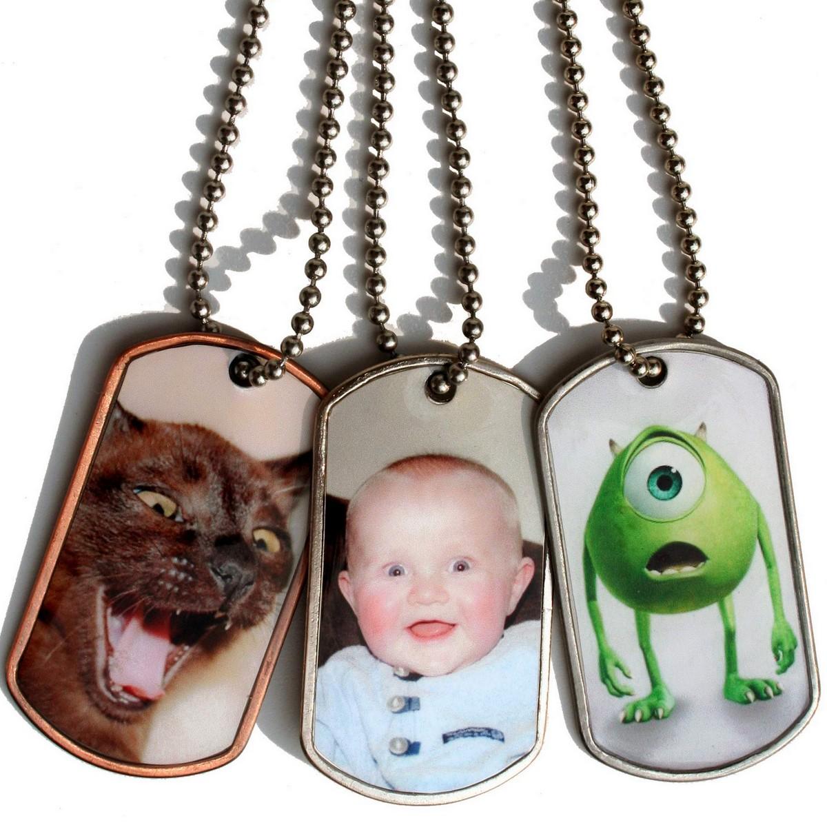 ID tag met foto bij AnimalWebshop.com
