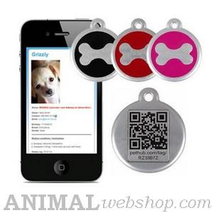 QR Medallas para perros