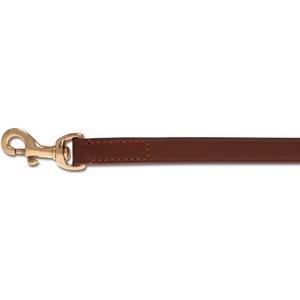 Hondenlijn plain brown gold AnimalW