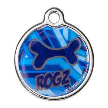 navy Zen Rogz passport ID tagz metaal hondenpenning bij Hondenpenning.net AMIGOS en HETDIER.nl